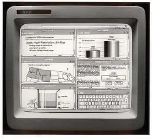 n 1981 Xerox launched Xerox Star
