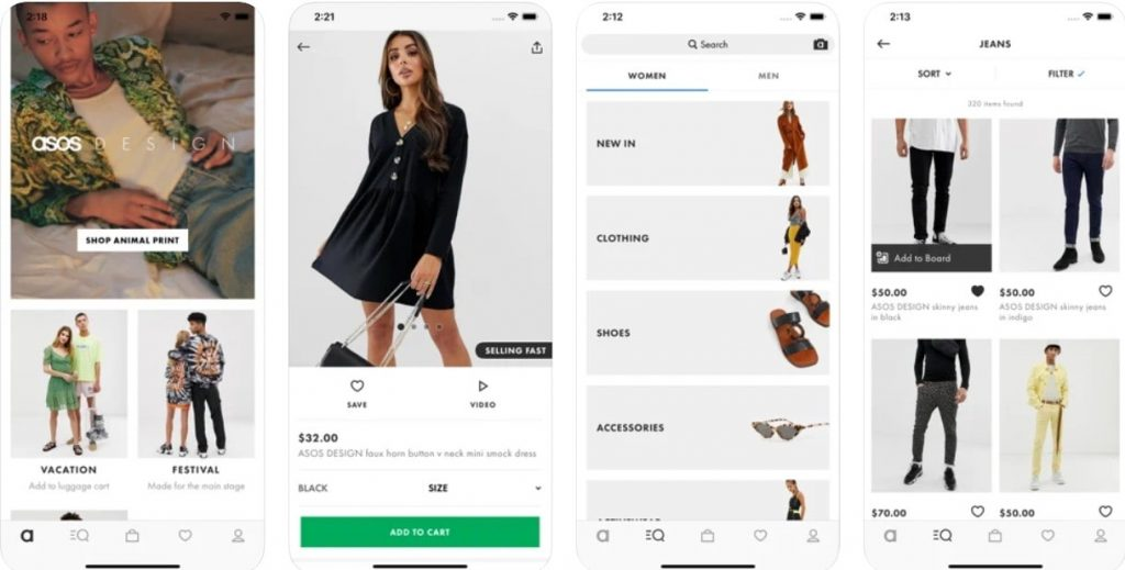 retail app example