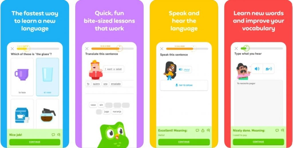 language learning app example