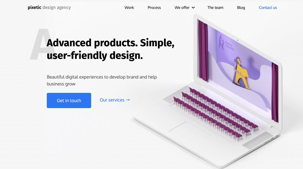 web design trends pixetic