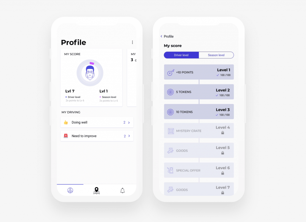 Pixetic's UI graphic design example