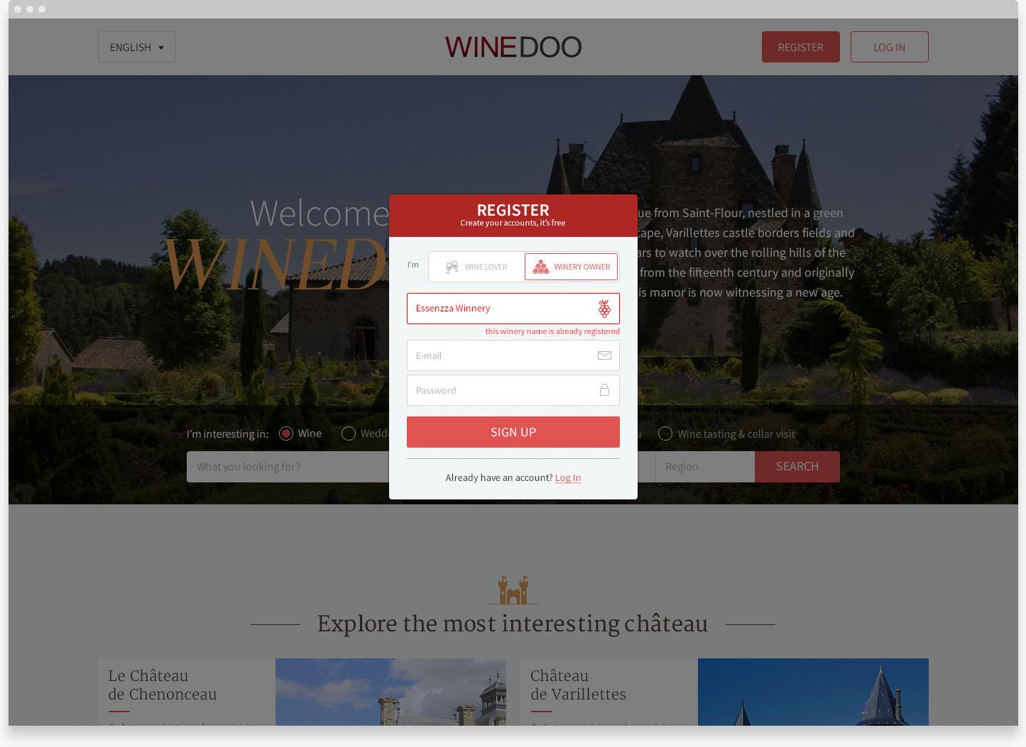 wine social network
